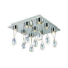 bel air lighting crystal droplet led