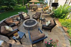 wood burning or gas fire pit