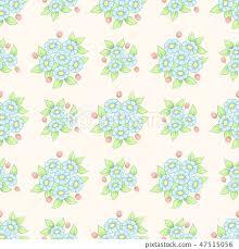 seamless pastel flowers wallpaper