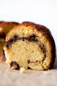 chai cinnamon swirl bundt cake sally