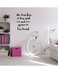 New Deals On Girls Room Wall Decal She Has Fire In Her Soul Children Or Teen Vinyl Decoration For Bedroom Or Playroom Decor