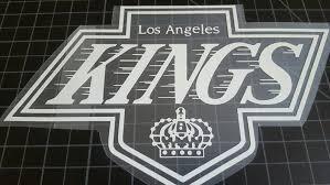 La Kings Los Angeles Hockey Car Truck Laptop Vinyl Decals Free Etsy