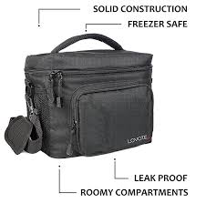 large insulated lunch bag cooler tote