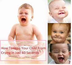 crying baby laugh in minutes