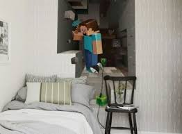 Minecraft Wall Decal Wall Sticker Wall Poster Boys Room For Sale In Portlaoise Laois From Simone Phelan