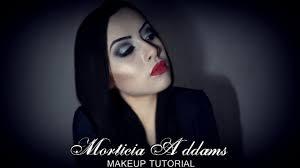 morticia makeup vlog part 2