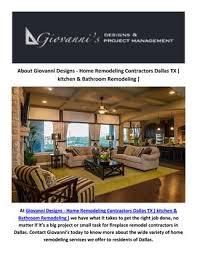 hire best fireplace remodel contractors