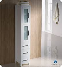 fresca fst6260wh torino tall bathroom