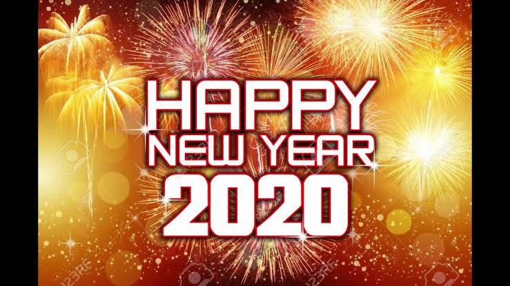Image result for happy new year 2020 youtube""