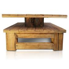 union rustic eskew coffee table with