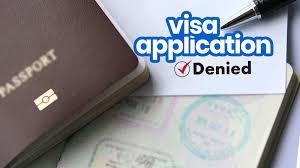 visa application denied 10 common