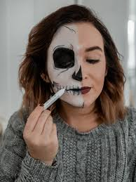 halloween makeup with boots simple