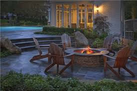 average fire pit sizes landscaping