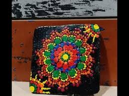 Mandala Art | Dot Mandala Coasters | DIY | Do it yourself art | Quarantine  Art - YouTube