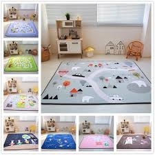 Cartoon Animals Runway Star Carpet Kids Room Soft Fleece Bedroom Carpet Sofa Living Room Rug Children Crawling Tatami Floor Mat Carpet Aliexpress