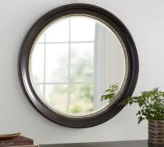 brussels round wall mirror pottery barn