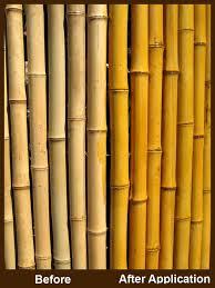How To Enhance Your Bamboo Fencing With Stain Bamboo Garden Fences Bamboo Fence Backyard Fences