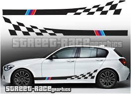 Bmw M Power 5x Decal Sticker Vinyl Sport Car Wheel Bumper Window Side Mirror New