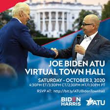 Joe Biden ATU Virtual Town Hall ...