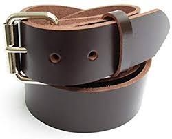 dark chocolate brown leather belt
