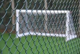 12 5m Of 1 5m 5ft Tall Uk Made Green Pvc Coated Chain Link Fence Amazon Co Uk Garden Outdoors