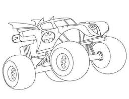Batman Monster Truck Download Free Coloring Pages Free Coloring