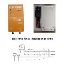 10km Electric Fence With Alarm Energizer Charger Controller 110v 220v Animal Sheep Horse Cattle Poultry Farm Fencing Shepherd Fencing Trellis Gates Aliexpress