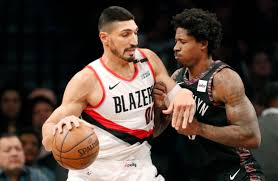 Enes Kanter to miss Trail Blazers' game at Toronto as ...