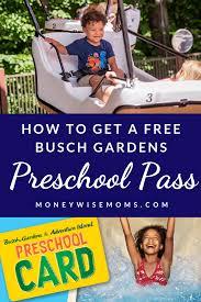 busch gardens pre p 2020