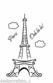 Paris Ooh La La Eiffel Tower 36 3 Footvinyl Wall Art Decal Removable Ebay