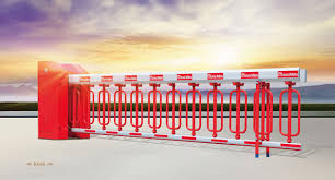 Parking Automatic Industrial Fence Barrier Arm Car Park Automatic Boom Gate
