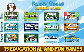 fourth grade learning games game