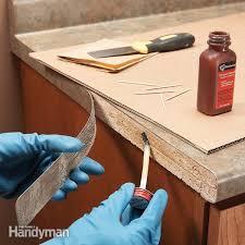 laminate repair tips reglue loose