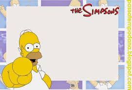 Imagenes De Los Simpsons Para El Dia Del Amigo Buscar Con Google Festa Dos Simpsons Convite De Aniversario Feliz Aniversario