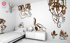 Baby Jungle Wall Decals Large For Nursery Canada Leaf Art Australia Plants Mural Leaves Animal Vamosrayos