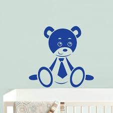 Amazon Com Bear Wall Decals For Kids Black Bear Wall Art Bear Wall Decal Bear Wall Decals Nursery Bear Wall Decor Bear Wall Stickers Z692 Home Kitchen
