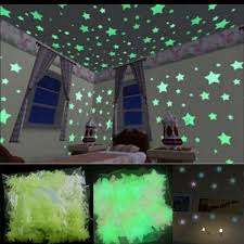 80x Glow In The Dark Stars Wall Sticker Kids Nursery Bedroom Room Ceiling Decor For Sale Online Ebay
