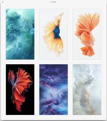 live wallpapers from iphone 6s