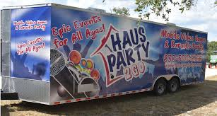 Haus Party 2GO - Party Trailer