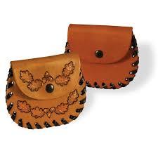 pocket coin holder kit tandy leather