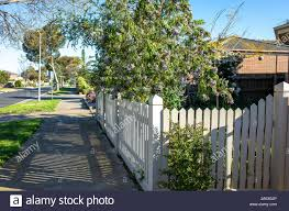 Front Yard Fence High Resolution Stock Photography And Images Alamy