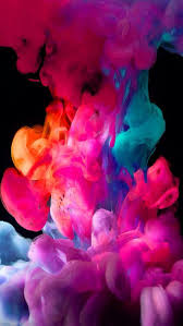 colored smoke iphone background