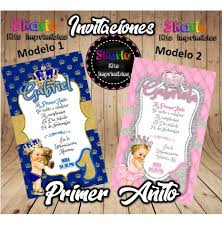 Invitacion Digital Principe O Princesa Baby Shower 1er Ano