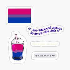 Bisexual Pride Stickers Redbubble