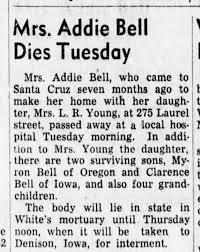 Addie Baker obit - Newspapers.com