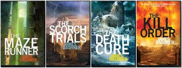 Maze Runner Series 4 books Set Collection James Dashner | 9781908435583