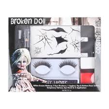 broken doll makeup kit from hot topic