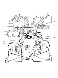 Coloring Page Cars 2 Cars 2 With Images Disney Coloring Pages