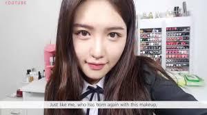 cara make up ala korea natural beauty