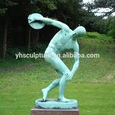 modern greek garden statue large marble
